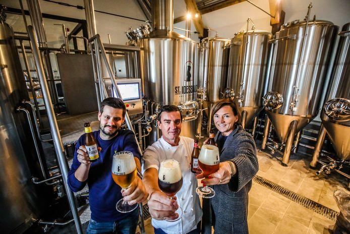 10hl brewhouse at brewpub Ten Bogaerde